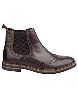 Base London Riley Burnished Chelsea Boot