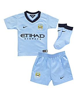 Nike Man City Home Kit Infants Set