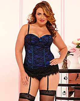 SevenTil Midnight Victorian Lace Bustier
