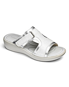 Heavenly Soles Mule Sandals E Fit