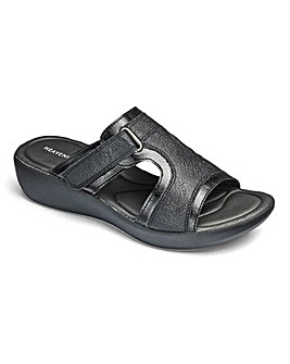 Heavenly Soles Mule Sandals EEE Fit