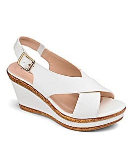 Cushion Walk Wedge Sandals EEE Fit