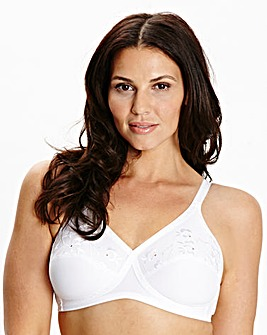 2 Pack Full Cup NonWired White Bras