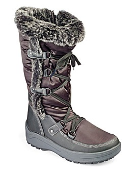 Heavenly Soles Winter Snow Boots E Fit