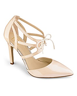 Sole Diva Pointy Court Shoe D Fit