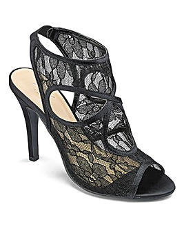 AX Paris Lace Sandal D Fit