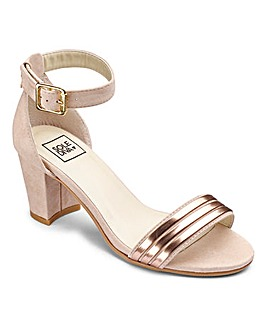 Sole Diva Block Heel EEE Fit