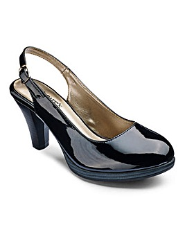 Natures Own Slingback Court Shoe E Fit