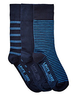 Levis Pack of 3 Gift Box Socks