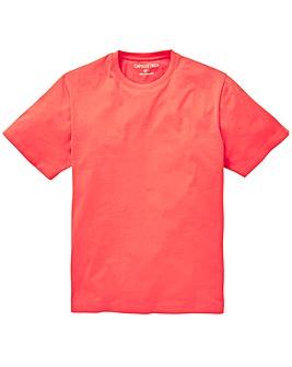 Capsule Coral Crew Neck T-shirt L