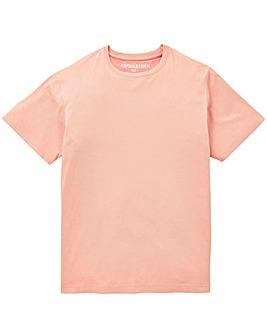 Capsule Dusky Pink Crew Neck T-shirt L