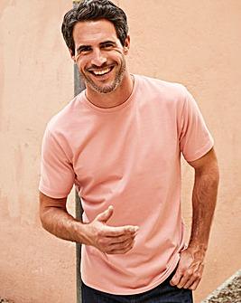 Capsule Dusky Pink Crew Neck T-shirt R