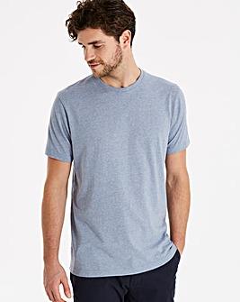Capsule Blue Marl Crew Neck T-shirt L