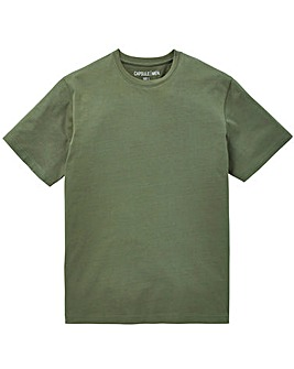Capsule Khaki Crew Neck T-shirt L