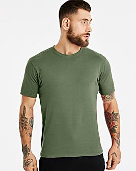 Capsule Khaki Crew Neck T-shirt R