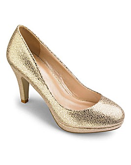 Sole Diva Platform Court Shoes E Fit