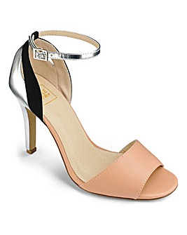 Sole Diva Strappy Cocktail Sandals EEE