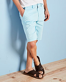 Capsule Light Blue Stretch Chino Shorts