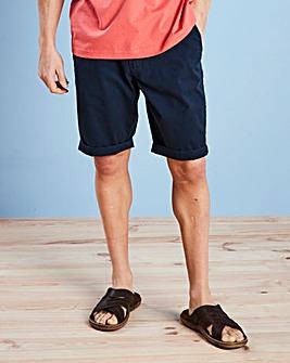 Capsule Navy Stretch Chino Shorts