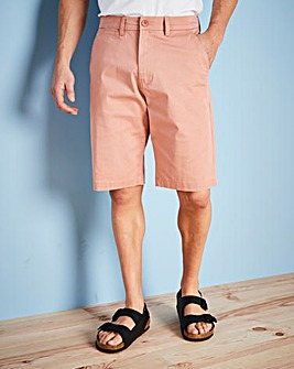 Capsule Dusky Pink Stretch Chino Shorts
