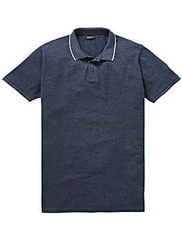 Capsule Charcoal Tipped Polo L