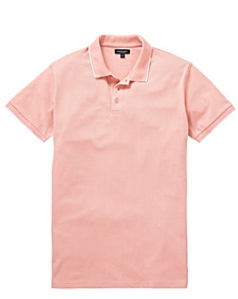 Capsule Dusky Pink Tipped Polo L
