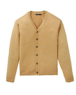 Capsule Mid Brown Button Cardigan R