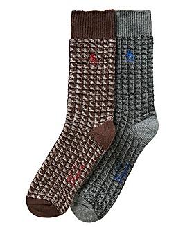 Original Penguin Pack of 2 Boot Socks