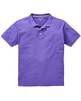 Capsule Purple Short Sleeve Polo L