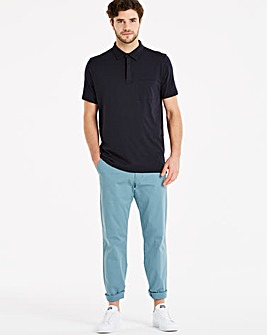 Capsule Blue Stretch Chinos 29in