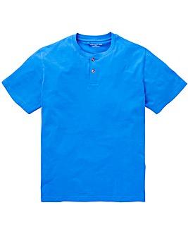Capsule Blue Grandad T-shirt L