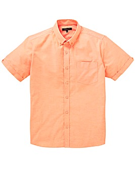 Capsule Peach S/S Oxford Shirt L