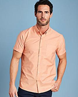 Capsule Peach S/S Oxford Shirt R