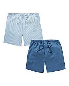 Capsule Mix Pack of 2 Woven Shorts
