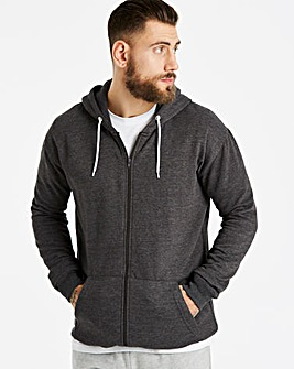 Capsule Charcoal Full Zip Hoody L