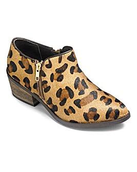 Sole Diva Zip Shoe Boots E Fit