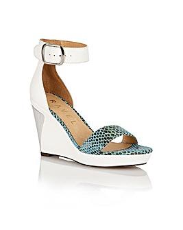 Ravel Texas ladies wedge sandals