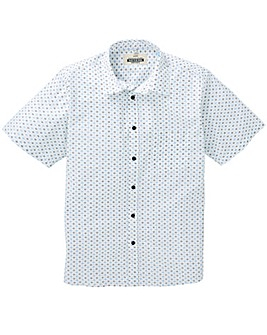 Jacamo S/S Printed Shirt Long