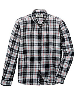 Jacamo L/S Flannel Shirt Long