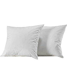 Pack of 2 Feather Cushion Pads - White