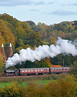 Steam Train Trip & Afternoon Tea for Two