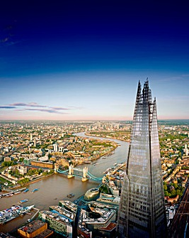 View from The Shard For Two Adults