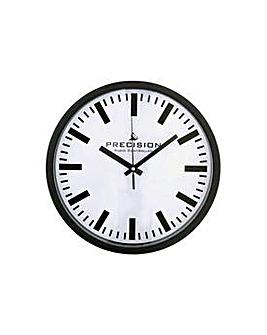 Precision Wall Clock - White