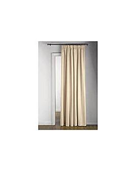 Thermal Door Curtain 117x212cm Cream