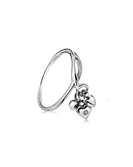 Lily & Lotty Abi Triple Heart Ring