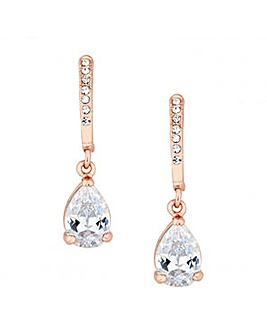Jon Richard Rose Gold Teardrop Earring