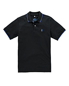 Jacamo Black Tipped Polo Long