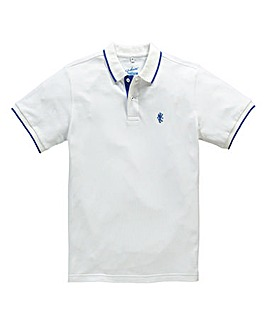 Jacamo White Tipped Polo Regular