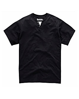 Jacamo Black Brazoria Layered T-Shirt R