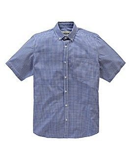 Jacamo Cobalt Archer S/S Check Shirt L